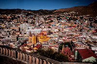 City Panorama of Guanajuato, Mexico