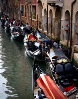 Gondolas and Canals in Venice